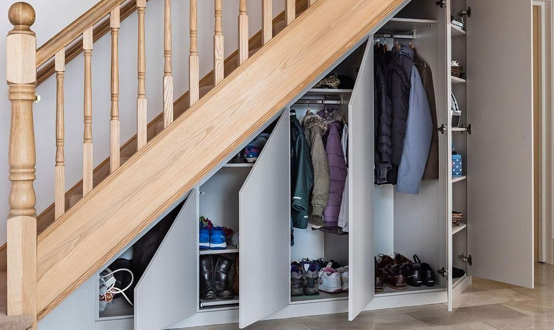 Under Stairs Storage Awkward Space Solutions Sharps
