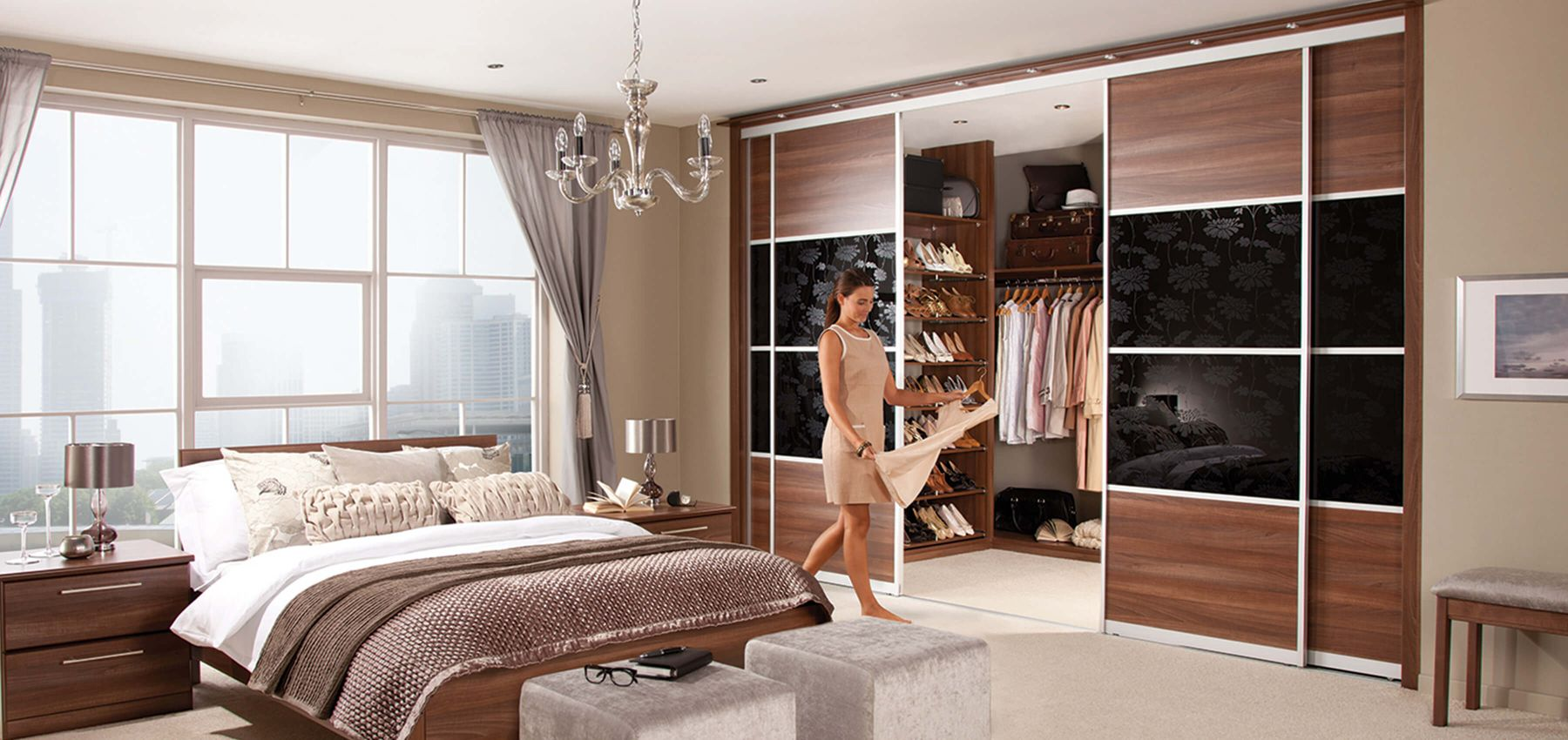 Bespoke Walk In Wardrobes Sharps Bedroom Furniture