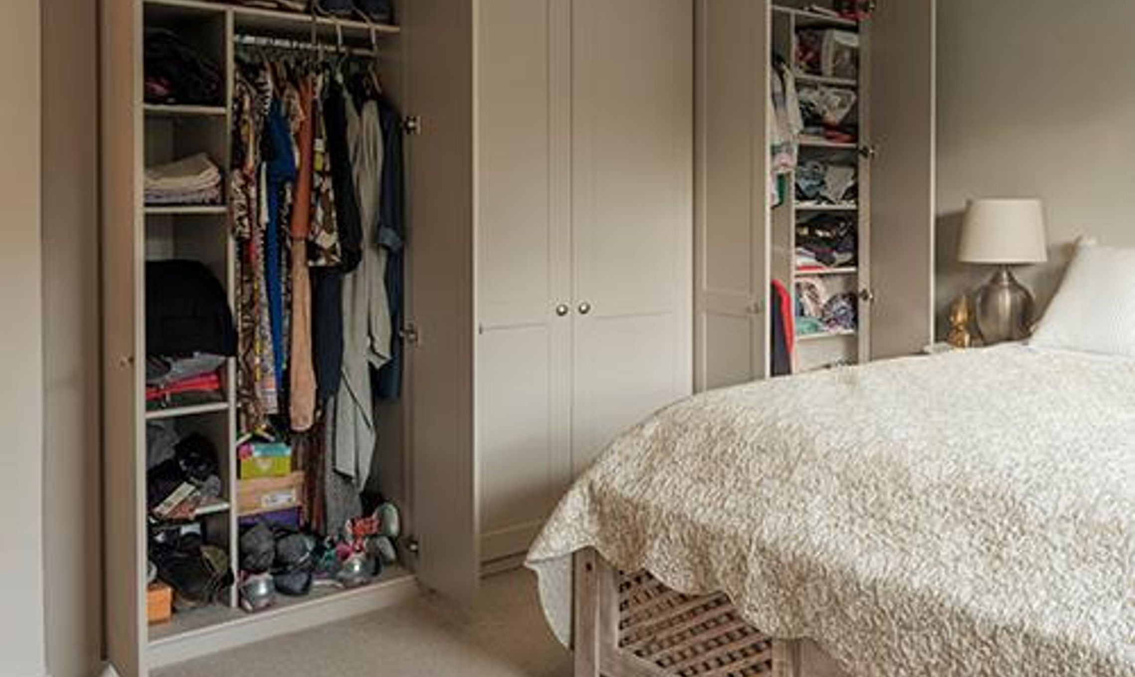 from handbags to an en suite this wardrobe fits everything in 44897