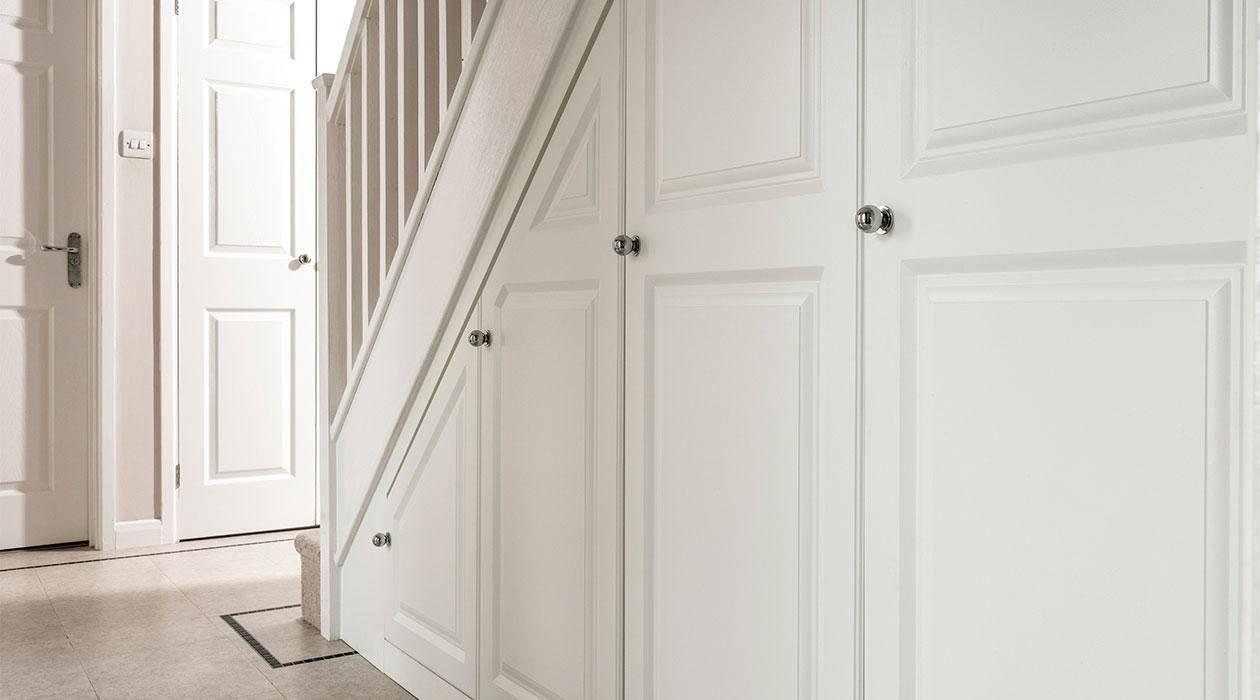 Under Stairs Storage Awkward Space Solutions Sharps
