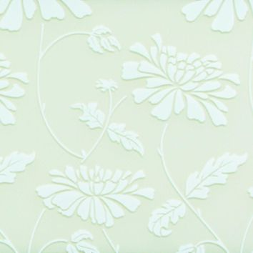 SHP5595 Sharps Swatches Sliding Wardrobes Glass White Floral