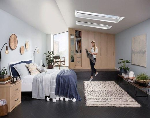 Sharps Croydon Showroom Fitted Bedroom Furniture