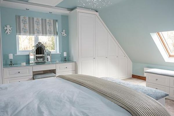 make a feature of your room s characterful sloping ceilings 69145