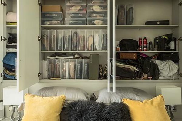 maximising space with clever overbed storage 47178