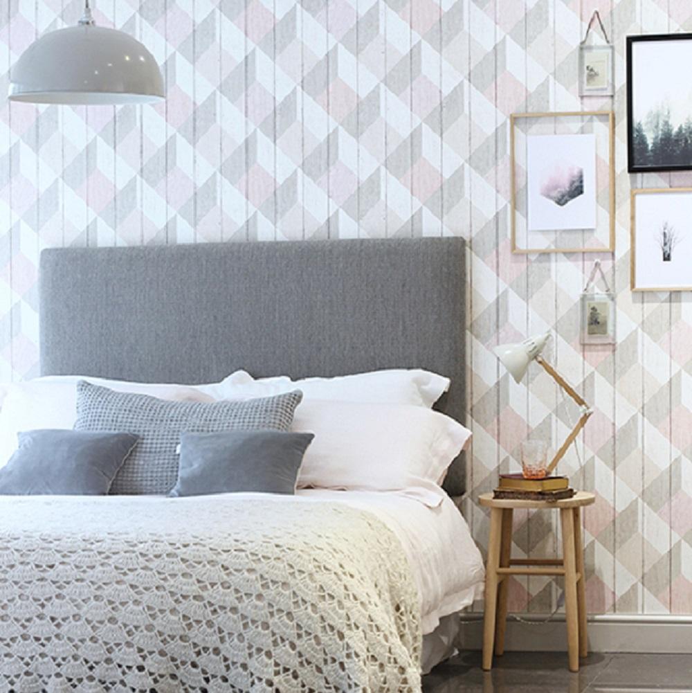 soft bed in luxury bedroom