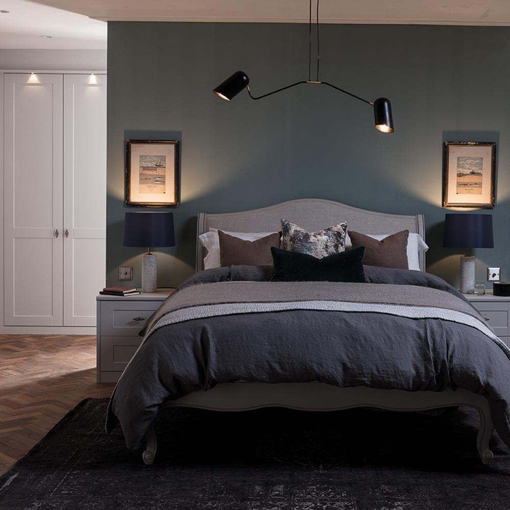 timeless chic bedroom by hannah cork