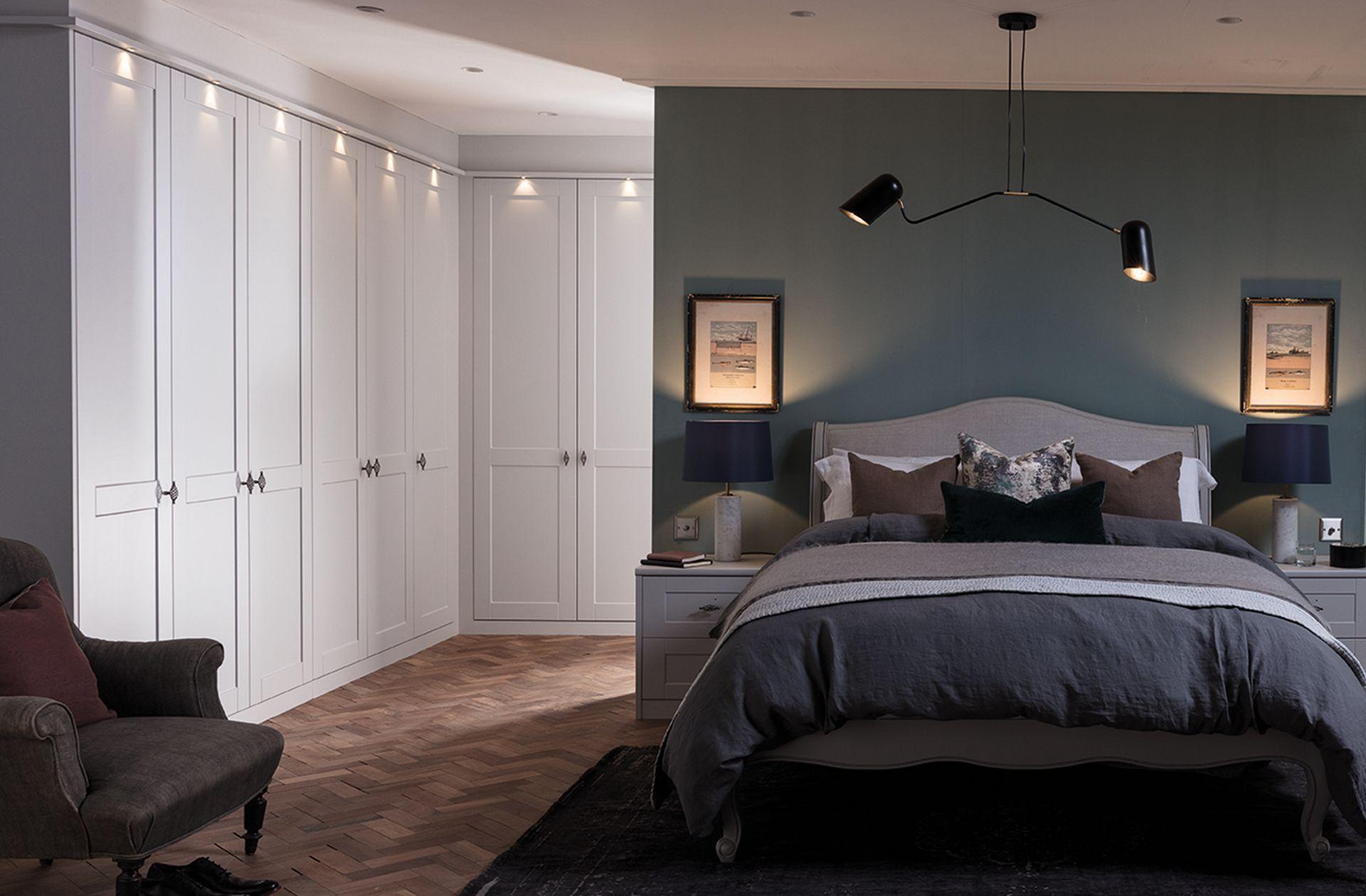 Shaker Fitted Bedroom Range Essence Collection Sharps