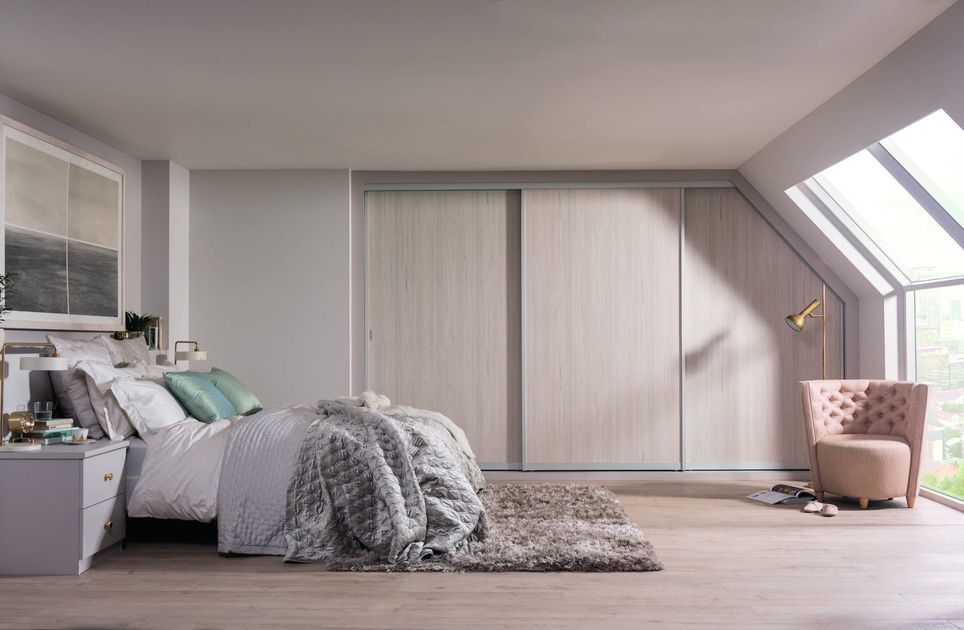 Fitted Sloping Ceiling Wardrobes Awkward Spaces Sharps